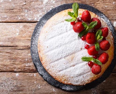 tarte aux fraise au délice gourmand